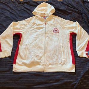 HBC '06 Torino Olympic Zip Up Sweater